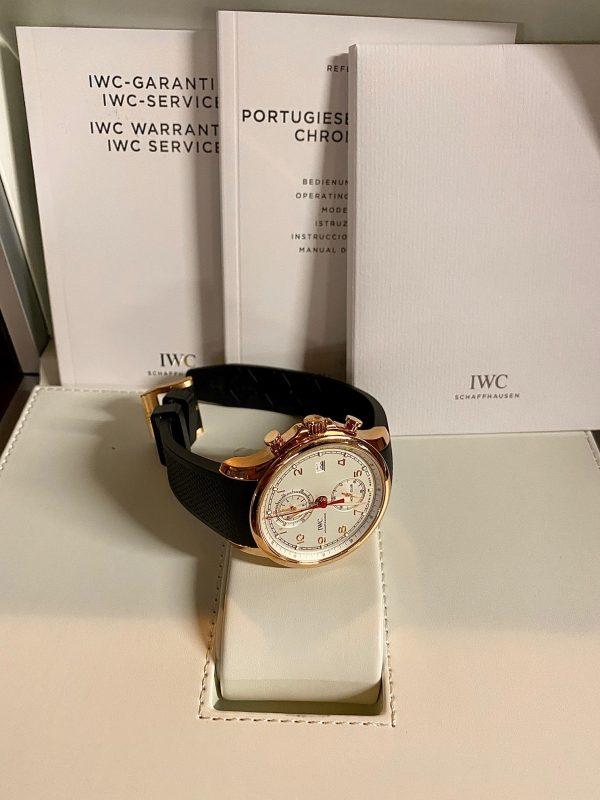 IWC Portuguese Yacht Club Chronograph 18K Rose Gold