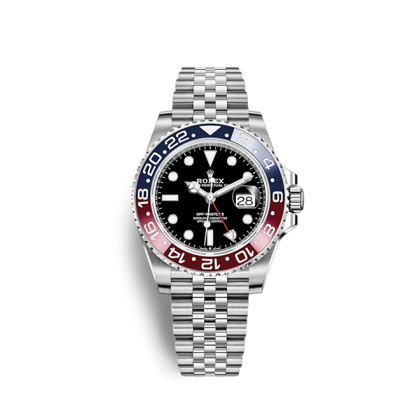 Rolex Gmt Master II Pepsi Red Blue Jubilee Steel Ref. 126710