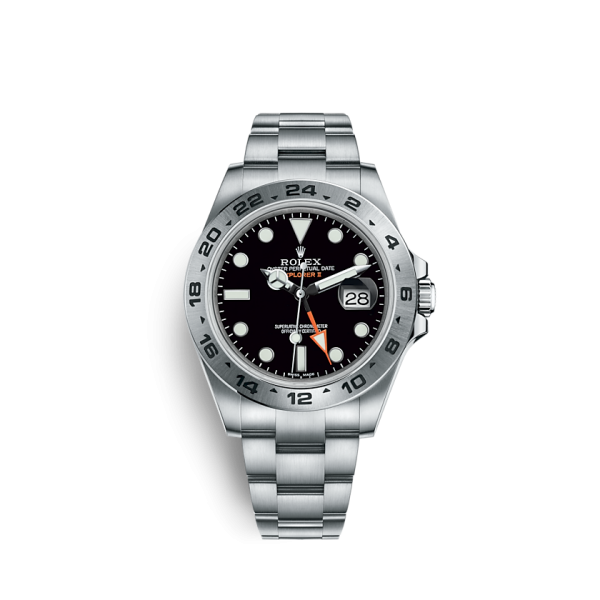 Rolex Explorer II 216570 Stainless Steel Black Dial 42mm B/P
